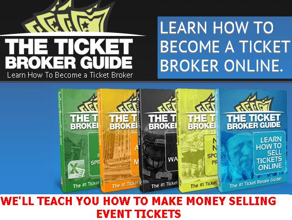 Ticket broker for beginners